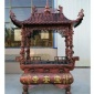 铜香炉 长方形铜香炉厂家 大型铜香炉价格 京乐雕塑